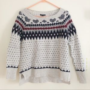 American Eagle Oversized Cotton Wool Sweater
